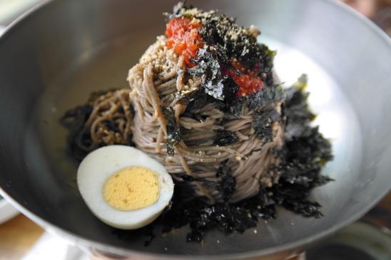 Memil Guksu (Gangwon-Style cold buckwheat noodles)