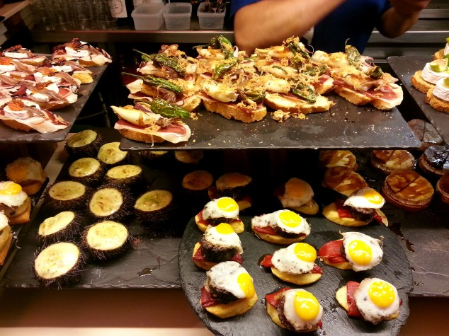 Pintxos at Bar Zeruko, San Sebastian