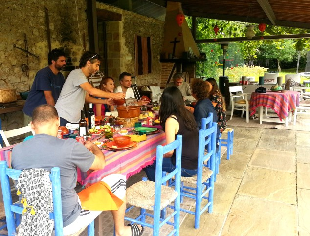 Lunch with Santiago's Family in Santander